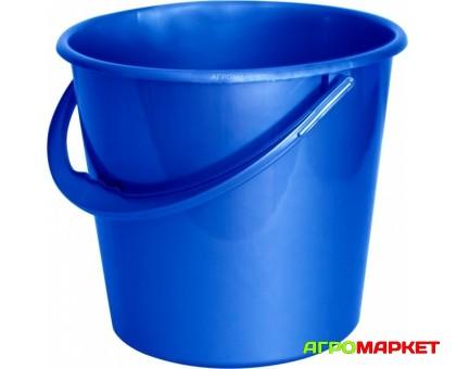Ведро пластиковое мерное 14л Синее Aleana