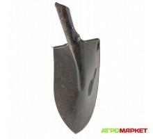 Лопата штыковая Американка 220мм х 270мм, тулейка 40мм, рельсовая сталь, б/ч, Сибртех