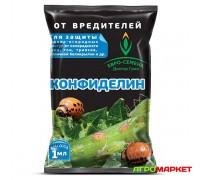 Инсектицид Конфиделин 1мл от колорадского жука, тли, трипсов, тепличной белокрылки Евро-Семена