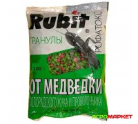 Инсектицид Рофатокс 100г гранулы от колорадского жука, медведки и проволочника Rubit