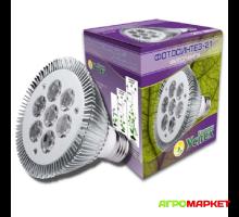 Фитолампа для подсвечивания растений Фотосинтез-21 E27 21Вт