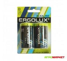 Элемент питания D LR20 1,5V Alkaline Ergolux