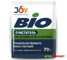 Биоочиститель для выгребных ям и септиков 70г Joy