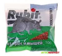 Гранулы от крыс и мышей масляно-сырные 100г Зоокумарин+ Rubit