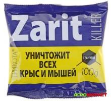 Гранулы от крыс и мышей Zarit Killer Трикота 100г Letto