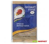 Фунгицид Профит Голд 3г от болезней лука, томатов, картофеля, винограда Зеленая аптека садовода