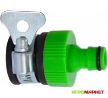 Адаптер для резьбовых кранов от 1/2 до 3/4 Polyagro Lite