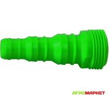Адаптер для шланга от 1/2 до 3/4 с внешей резьбой 3/4 Polyagro Lite